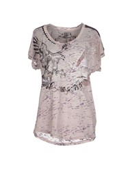 We Are Replay Topwear T Shirts Women Dove Grey