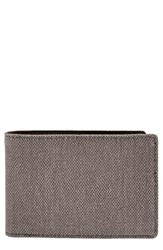 Men's Skagen 'Ambold' Bifold Wallet Grey Dark Heather Grey