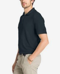 G.H. Bass And Co. Men's Solid Performance Polo India Ink