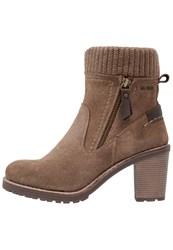 Tom Tailor Boots Sand Taupe