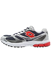Lotto Zenith Vi Cushioned Running Shoes Aviator Flame Dark Blue
