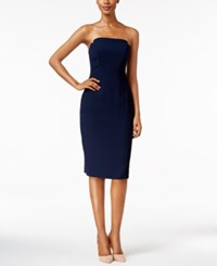 Jill Stuart Strapless Bodycon Dress Ink