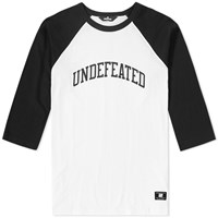 Undefeated 3 4 Field Raglan Tee Black