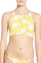 Billabong Junior Women's 'Gypsy Garden' High Neck Halter Bikini Top