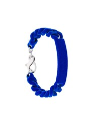 Maison Martin Margiela Mm6 Chain Bracelet Blue