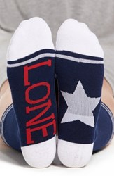 Sockart Women's 'Lone Star' Crew Socks