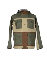 White Mountaineering Coats And Jackets Jackets Men Beige