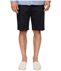 Vince Cotton Sateen Urban Shorts Navy Men's Shorts