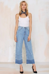 Nasty Gal Denim The Crop Out