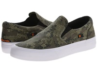 Dc Trase Slip On X Dpm Grey Camo Skate Shoes Multi