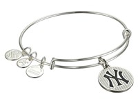Alex And Ani Mlb New York Yankees Pinstripes Charm Bangle Bracelet Rafaelian Silver Bracelet