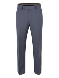 Pierre Cardin Prince Of Wales Check Reg Fit Trouser Blue
