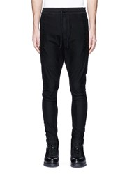 Studio Seven 'Military Easy' Drawstring Waist Pants Black