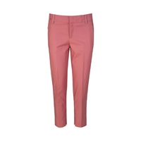 Part Two Smart Stretchy 7 8 Length Chinos. Pink
