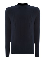 Peter Werth Wilheim Turtle Neck Jumper Navy