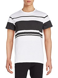 Sovereign Code Bison Striped Tee White
