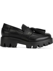 Strategia Tassel Loafers Black