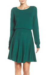 Eliza J Women's Sweater Fit And Flare Dress