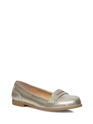 Evans Silver Loafers
