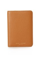 Marc Jacobs Gotham Passport Cover Maple Tan