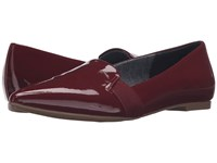 Dr. Scholl's Sincerity Wine Patent Women's Shoes Burgundy