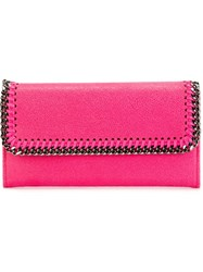 Stella Mccartney 'Falabella' Wallet Pink And Purple