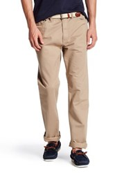 Nautica 5 Pocket Spinnaker Pant 30 34 Inseam Beige