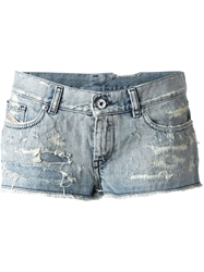 Diesel 'De Scoss' Shorts Blue