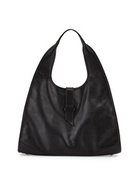 New Yorker Leather Hobo Bag Black Sjp By Sarah Jessica Parker