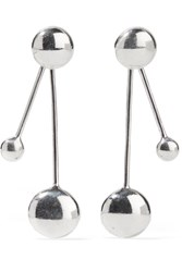 Pamela Love Large Satellite Silver Earrings