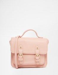 Asos Mini Satchel Bag Blush Pink
