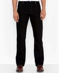 Levi's Men's 517 Bootcut Fit Jeans Black