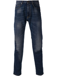 Tomas Maier Medium Wash Jeans Blue