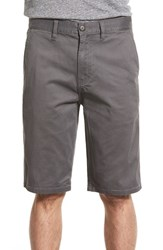 Men's Element 'Howland' Stretch Cotton Twill Shorts Stone Grey