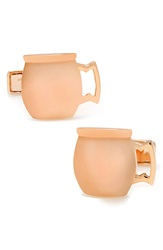 Cufflinks Inc. Moscow Mule Cuff Links Rose Gold