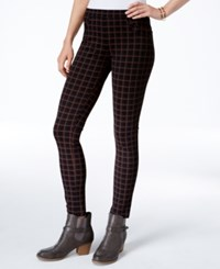 Sanctuary Grease Plaid Leggings Christopher Plaid