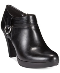 American Living Genevie Platform Dress Booties A Macy's Exclusive Style Black