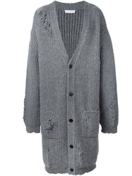 J.W.Anderson Oversized Cardi Coat Grey