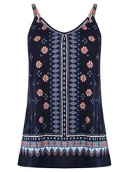 Oasis Cancun Holiday Cami Navy