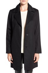 Fleurette Women's Notch Collar Cashmere Coat
