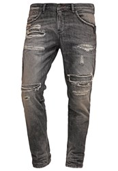 Ltb Fabijan Relaxed Fit Jeans Escorpio Wash Destroyed Denim