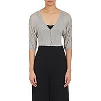 Philosophy Di Alberta Ferretti Women's Rib Knit Shrug Size 0 Us No Color