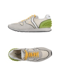 Voile Blanche Sneakers Acid Green