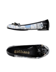 Galliano Moccasins Black