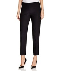 T Tahari Dayna Cropped Straight Leg Pants Black