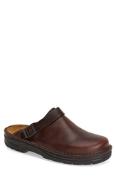 Naot Footwear 'Glacier' Clog Men Buffalo Leather