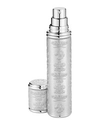 Silver Leather Atomizer With Silver Trim 10 Ml Creed