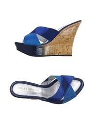 Chiara Pasquini Footwear Sandals Women Blue