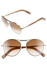 Men's Tom Ford 'Jesie' 54Mm Sunglasses Gold Gradient Brown