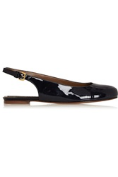 Marni Patent Leather Slingback Ballet Flats